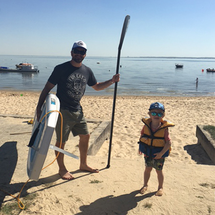 location de stand up paddle au Cap Ferret